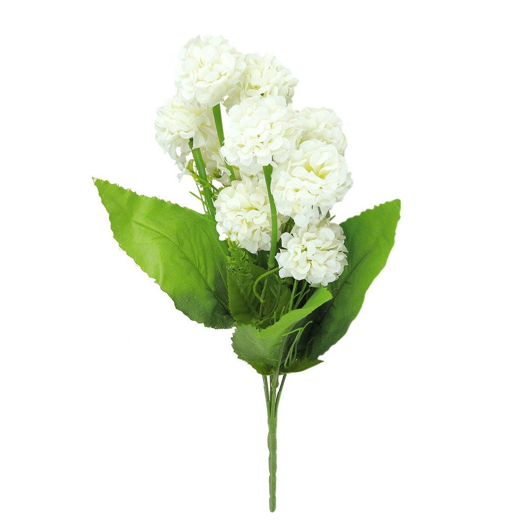 NFLC 1 x Artificial Simulation Hydrangea Flower Plant with 9 Flower Balls for Bouquet/Decoration(China (Mainland))
