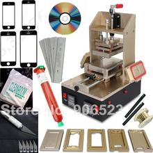New 5 in 1 machine for Samsung Middle Bezel Splite for iPhone Frame Laminating Vacuum LCD Separator with loca UV glue free gift(China (Mainland))