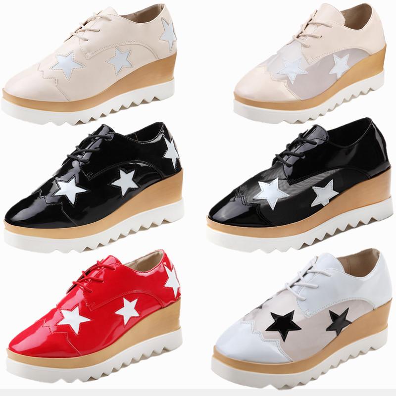 2014 high heels shoes 6 5cm wedge platform