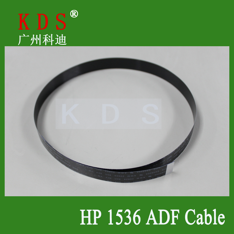 Free Shipping LaserJet Pro M1536dnf MFP Black Flet ADF Cable Printer Spare Parts(China (Mainland))