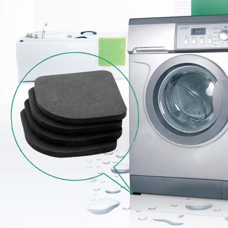 Washing Machine Shock Pad Furniture NonSlip Mats High Quality PVC Bath mat 4Pcs/Set Bathroom Accessories Refrigerator Shock Pad(China (Mainland))