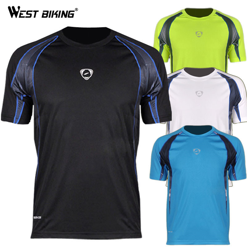 Sport T-shirt Brand Design Men Casual O-neck Cool T-shirts Male Bike Sports Quick Dry Shirts Bicycle Running Outdoor Jersey(China (Mainland))