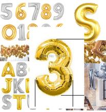 Bálónky v tvare čísiel 35 cm