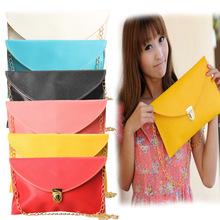 Candy Colors Women's Messenger Clutch Chain Shoulder Bag Hand Bag CrossBody 6 Colors