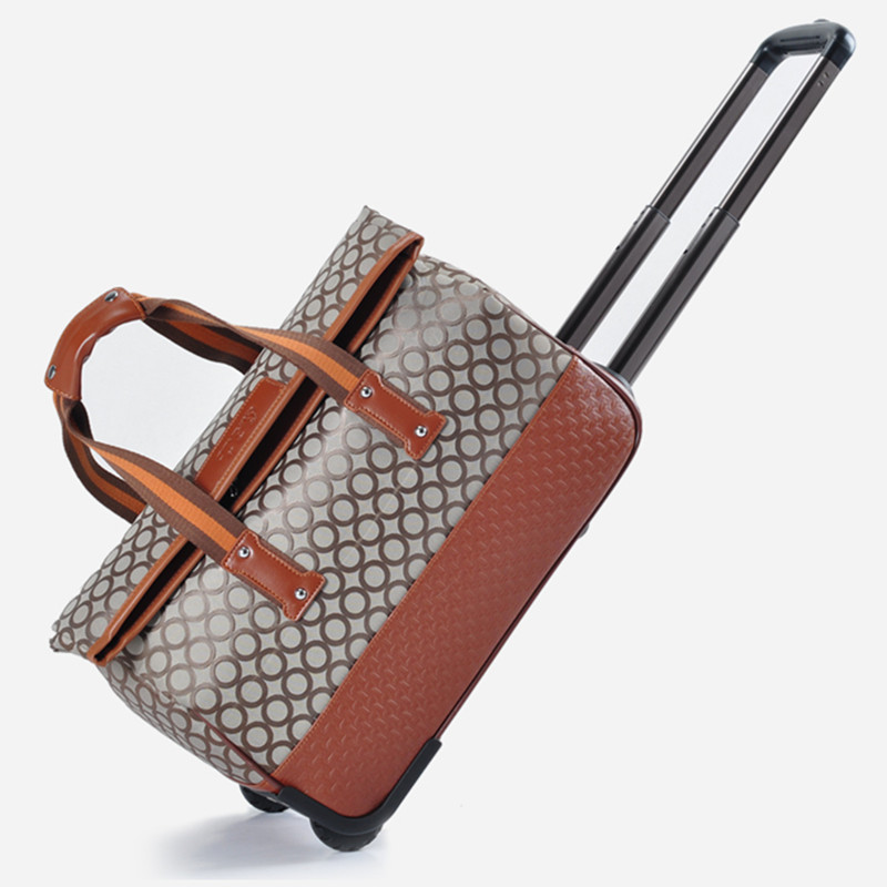 Free shipping Double 12 fashion handbag female bag travel bag trolley luggage bags large capacity travel bag<br>