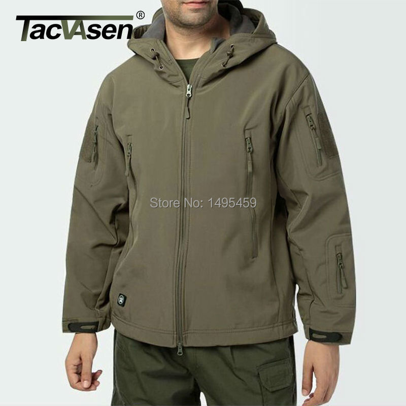 New Arrvial Outdoor Military Tactical Jacket Waterproof Army Sport Camouflage Hunting Camping Thermal Fleece Coat YCIDL-002-4(China (Mainland))