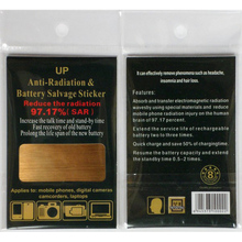 by DHL or EMS 3000 pieces anti radiation battery Energy Saver Sticker shield radiation(China (Mainland))