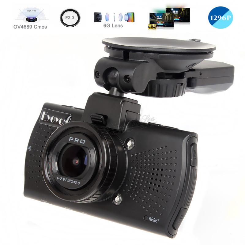Samoon A7910 1080P Full HD dashcam 2,7 inch met WDR en G-sensor