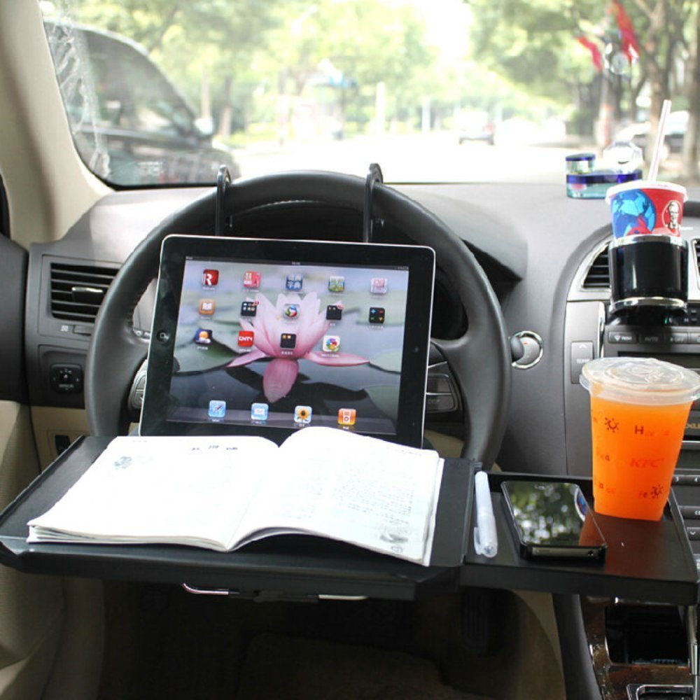 Autvivid Car Auto laptop Tablet PC iPad Mount Stand Holder Desk Table Drink Food Cup Tray Car Dining Food Drink Desk Cup Holder(China (Mainland))