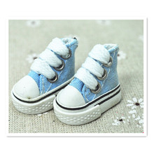 Wholesale Assorted Colors Canvas Shoes For BJD Doll 1200 Pairs/Lot,3.5 CM Mini Toy Shoes 1/6 Bjd Shoes for Doll Accessories(China (Mainland))