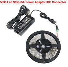 Buy SMD 5630 5730 LED Strip DC12V 5M 300Led 60Led/m not-waterproof Flexible Light +5A 60W Power Adapter Supply for $12.98 in AliExpress store