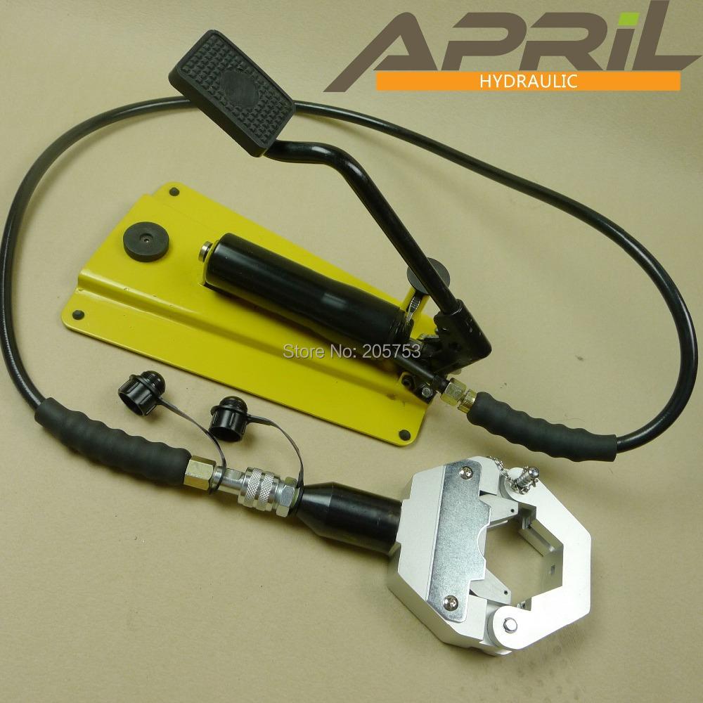 hydraulic a c hose crimper kit ac repair tools yl 7842a 1. Black Bedroom Furniture Sets. Home Design Ideas