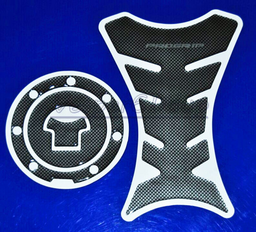 Motorcycle Carbon Fiber Fuel Tank Pad Decal Protector Stickers Carbon Fiber Fuel Gas Cap Cover For Honda CBR NSR VTR 125 250 400(China (Mainland))