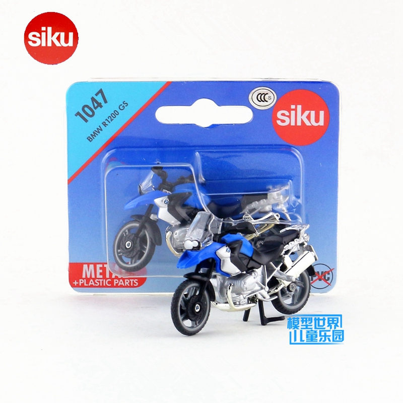 SIKU German Educational/Diecast Metal Model toy Motorcycle/Simulation:R1200 GS Super/for children's gift or collection/Small(China (Mainland))