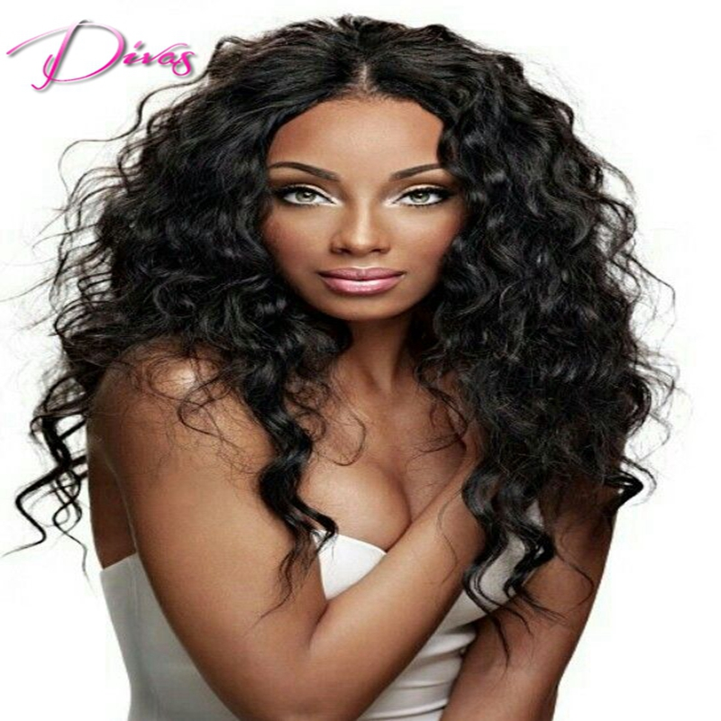 6a Beat quality brazilian virgin human gluless full lace human hair wigs for black women lacefront wigs with baby hair in stock<br><br>Aliexpress