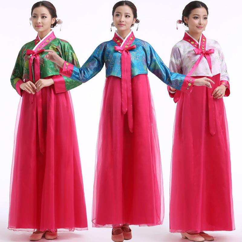 Traditional Dresses ethnic Korean dance costumes National Costume ...