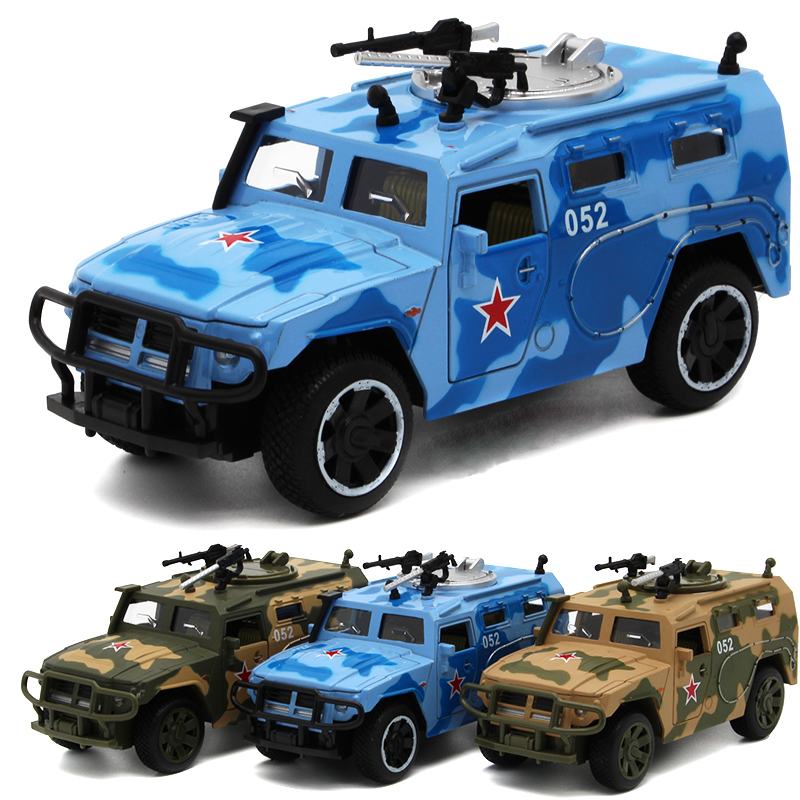 Combat Command Vehicle 1:32 Diecast Metal Car Model Navy Chariots Jungle Chariots Desert Chariots Simulation Alloy Car Kid Toys(China (Mainland))