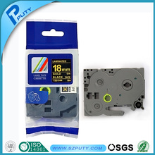 Compatible label tape 18mm laminated TZ tape TZ-344 with top quality