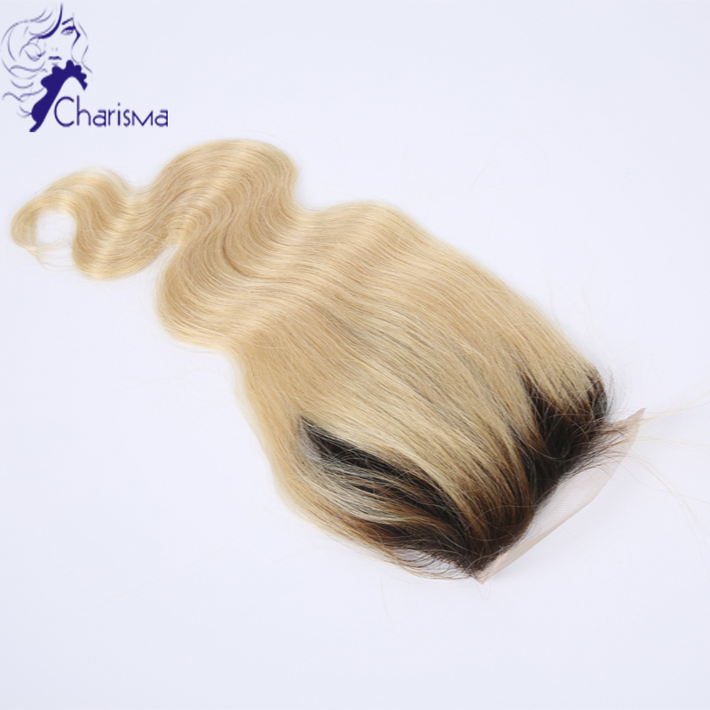 Cheap Brazilian Virgin Hair Lace Ombre Closure Body Wave Free/Middle/Three Part Lace Top Closure 4X4 Natural Black <br><br>Aliexpress