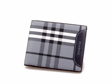 Hot sale! Famous brand genuine leather men short Wallet, classic fashion male patchwork purse with coin pocket &card holder