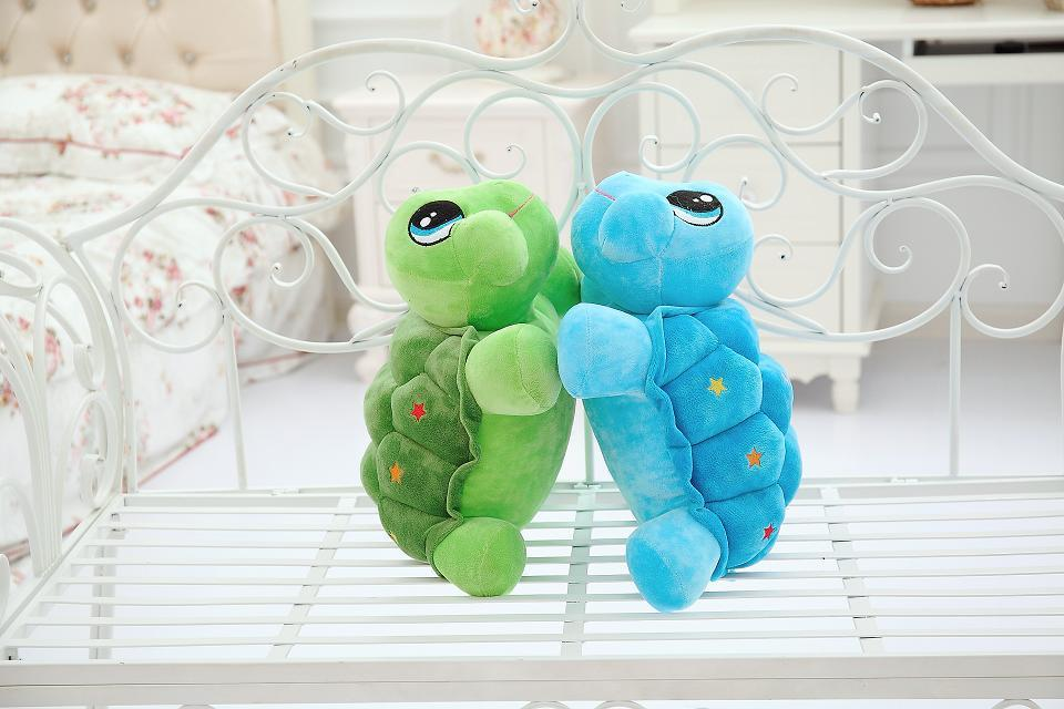 NEW Lovely 43cm cartoon Turtle plush toy / Children's favorite present/ Free Shipping(China (Mainland))