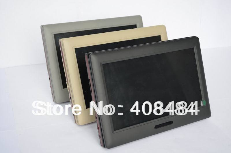 """9"""" Headrest Monitor Car DVD Player Portable DVD Player Wholesale/Lot Free Shipping(China (Mainland))"""