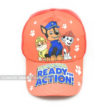 Children's animation cartoon Paw lovely dogs patrol team fireman engineer baseball sport cap hat adjustable for kids boys girls(China (Mainland))