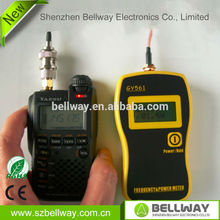 RF Power Meter & Frequency Counter GY561 for Two-Way Radio for Walkie Talkie  frequency range 1Mhz---2400Mhz&Free shipping(China (Mainland))