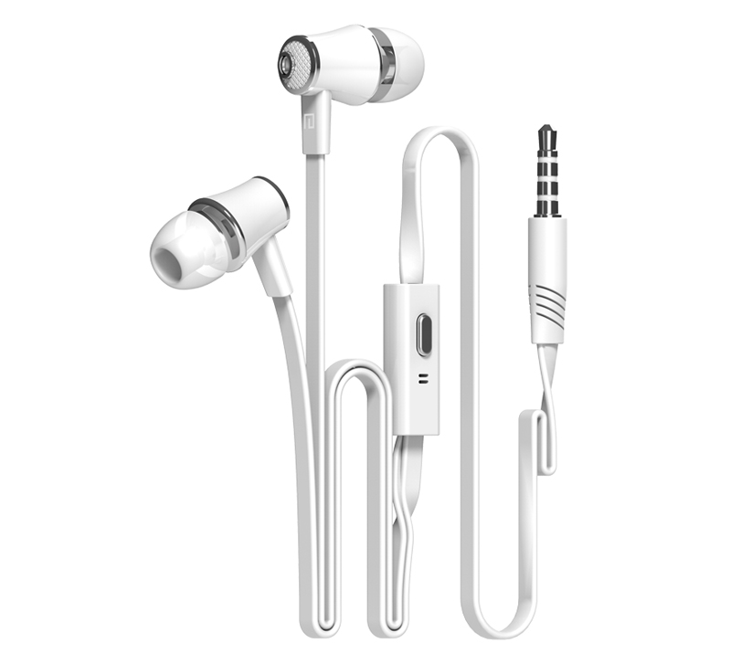 Original Stereo Bass earphone Headphones handsfree Mic Noise Reduction Headset 3 5mm Earbuds for all Mobile