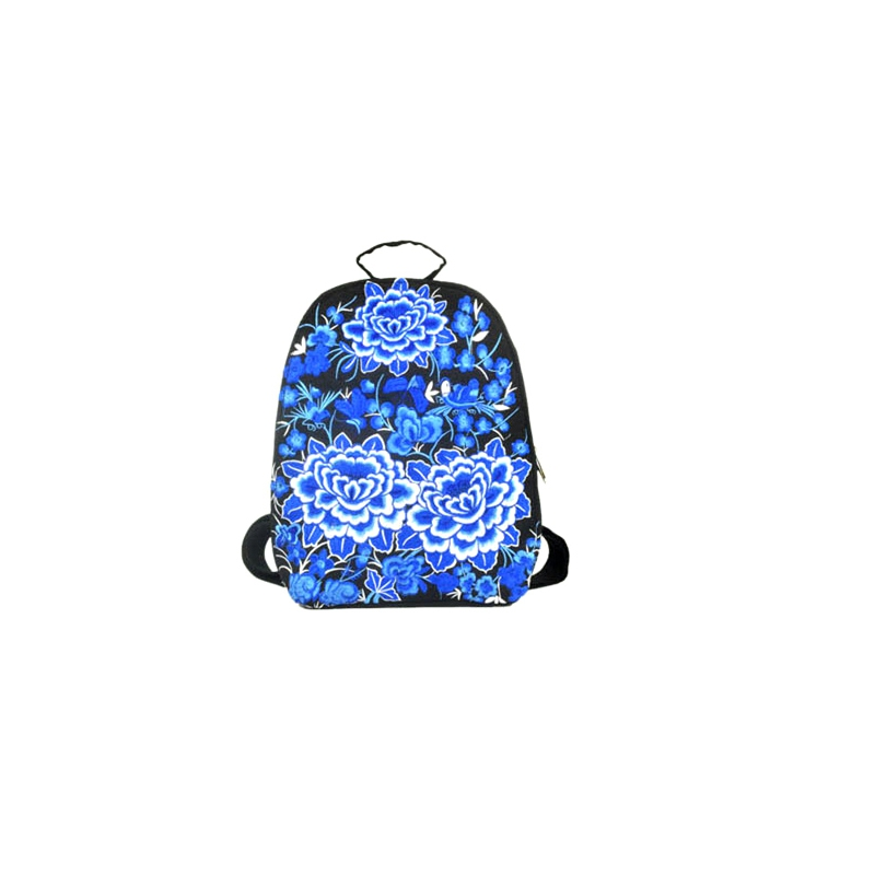 New Design Chinese National Style Embroidery Backpacks Popular Colorful Lady Backpack Fashion Vintage Big Capacity Women Bags