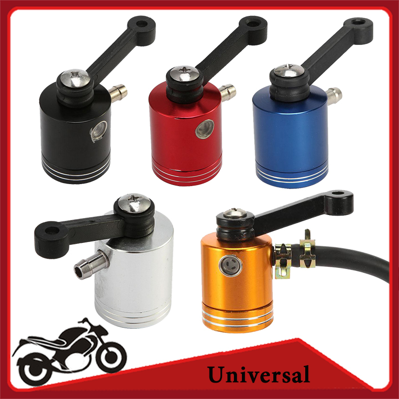 Aluminum brake fluid reservoir