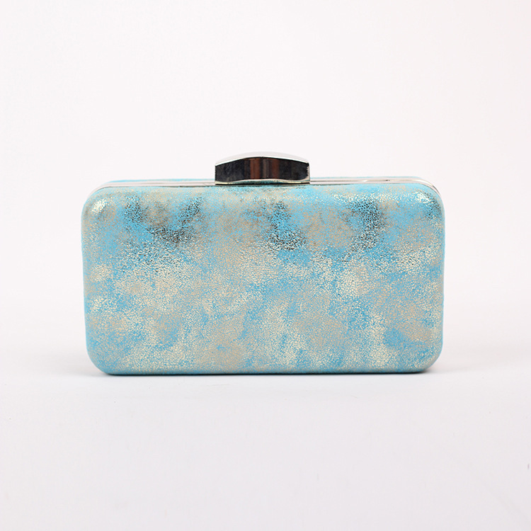 Korean style aesthetic -2014 PU printing Clutch Cross square strapless handbags(China (Mainland))