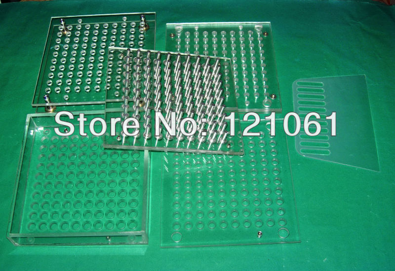 2# capsule used filler,100 cavity manual capsule filling machine,capsule filler with tamper(China (Mainland))