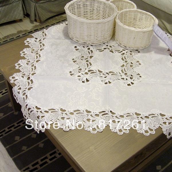 nappes en dentelle blanche achetez des lots petit prix nappes en dentelle blanche en. Black Bedroom Furniture Sets. Home Design Ideas
