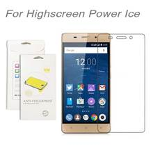 For Highscreen Power Ice,3pcs/lot High Clear LCD Screen Protector Film Screen Protective Film Screen Guard For Highscreen Ice