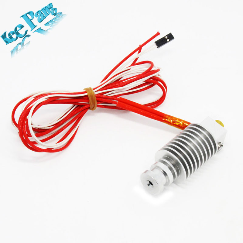 FreeShpping  Short distance 3D Printer J head Hotend for 1 75mm 3 0mm 3D Bowden