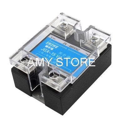 JGX-15VA AC 24-480V 15A Resistance Type Adjustable Solid State Relay
