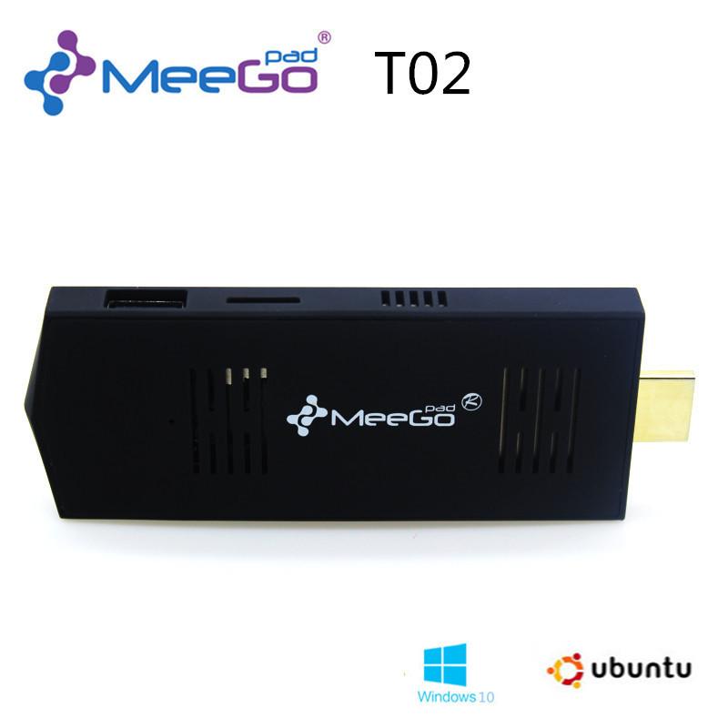 MEEGOPAD T02  Mini PC Windows 8.1&amp; UBUNTU OS   mini Compute  Stick Quad-Core Intel Atom Z3735F HDMI TV  32GB Version  2GB RAM<br><br>Aliexpress