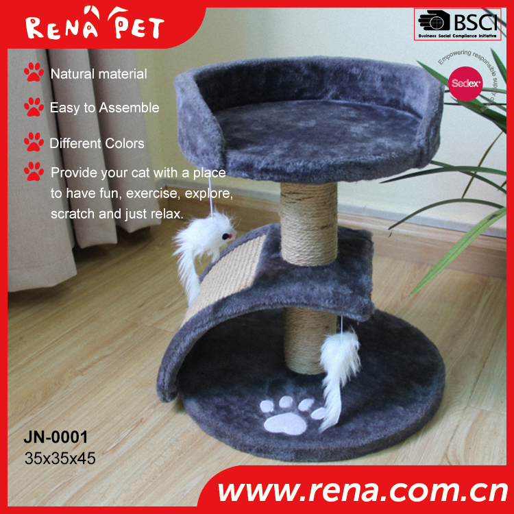 JN-0001hot sale cat furniture for scratching pet tree animal products(China (Mainland))