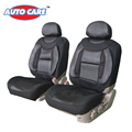 Auto Care Comfortable PU Front Car Seat Cover with Foam Lumbar Cushion 2 Sided Car Styling