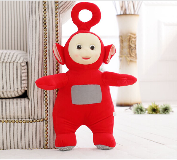 25CM Teletubbies plush Dolls 3D Export US cartoon toy for Kids Christmas and Children day gift TV classic baby plush Doll(China (Mainland))
