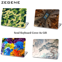 """Buy Unique Design Laptop Cases Ink Painting Colorful Laptop Full Body Hard Case Macbook Air11""""13"""" Retina Pro 13""""15""""New Mac 12 for $19.15 in AliExpress store"""
