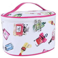 2017 Famous Brand Cosmetic Bag Large Capacity Wash Bags organizador Travel Storage Makeup Cases cosmetic organizer neceser S027(China (Mainland))