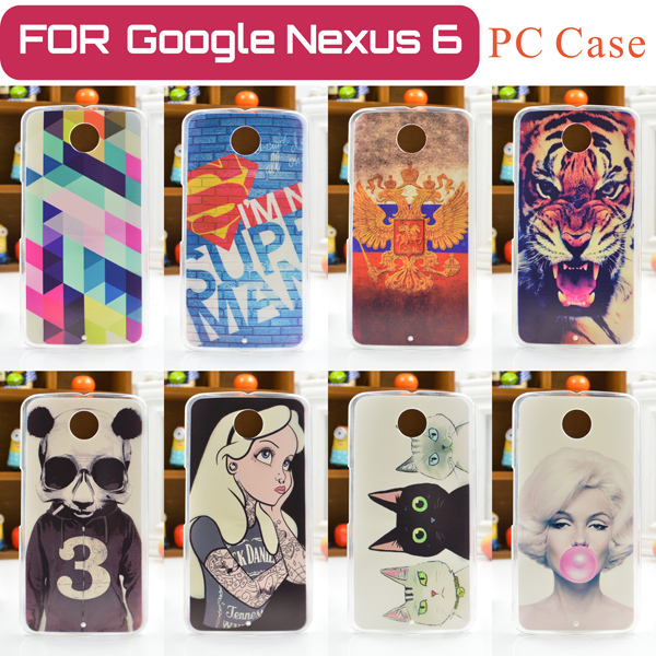 New Fashion Cell Phone Case FOR Motorola Google Nexus 6 XT1100 XT1103 Back Protective Cover FOR Google Nexus 6 Free Shipping(China (Mainland))