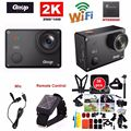 Free Shipping Gitup Git2 Pro 16MP 2K Sports DV Action Camera Gyro Mini Camcorder Mic Remote