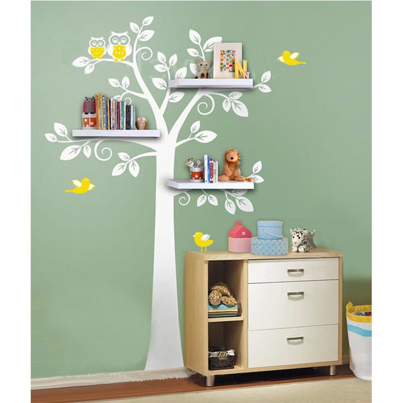 Arbre tag re murale achetez des lots petit prix arbre - Tablettes murales decoratives ...