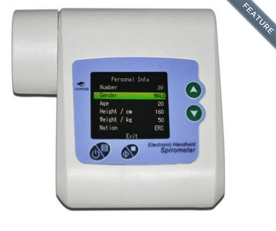 SP10 Electronic Digital Spirometer Machine<br><br>Aliexpress