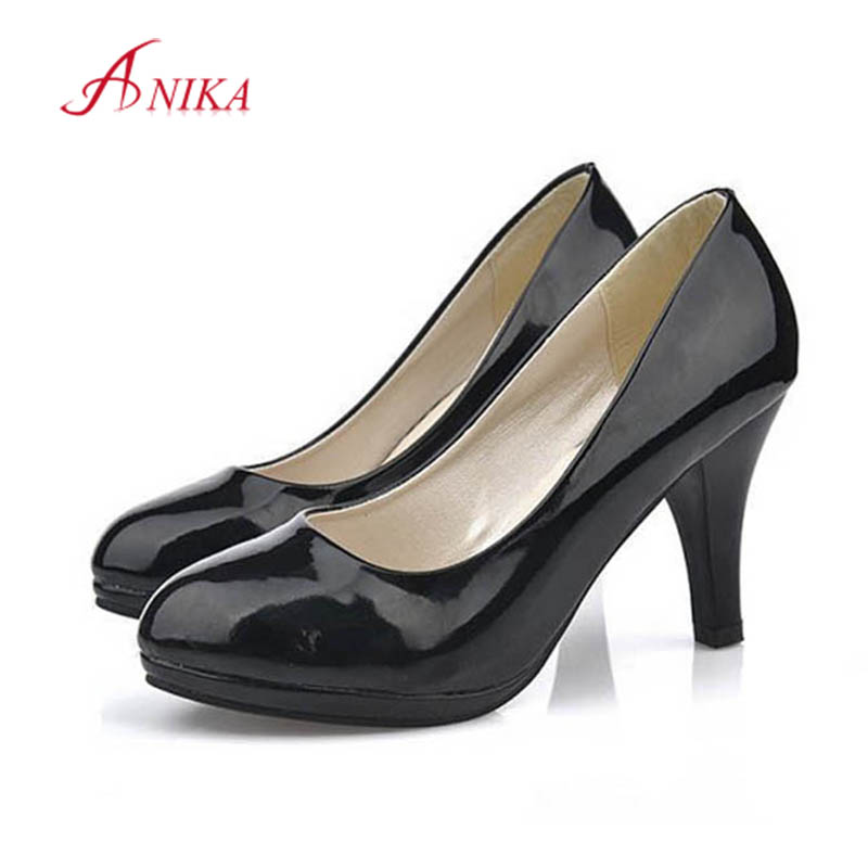Small Big Size 34-42 Women Pointed toe Red Black Pumps Office Lady Classic high-heeled Shoes Man Versed Role Party Dress Shoe<br><br>Aliexpress