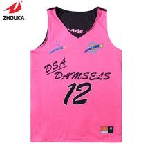 High Quality font b Reversible b font sleeveless custom men s font b basketball b font