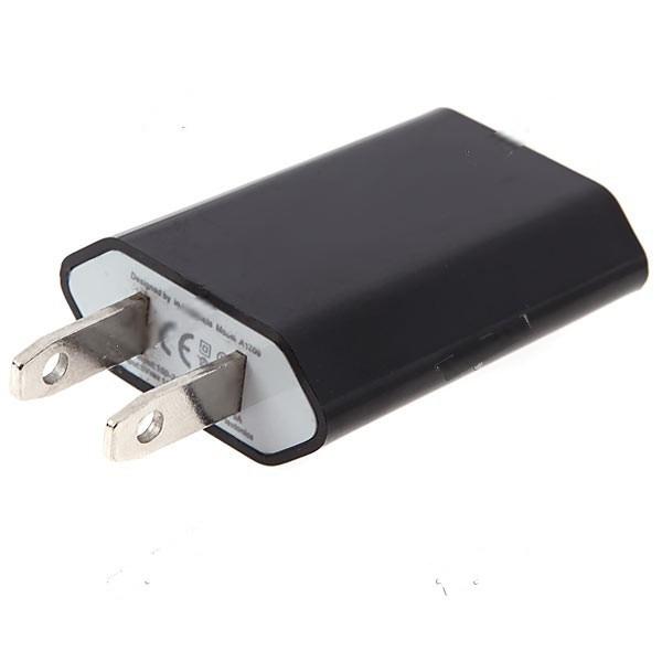 WarmSun Universal Flat Pin Plug US Plug Power Adapter AC Wall Charger Charging Plug with USB Output for Cell Phone MCG-159821(China (Mainland))
